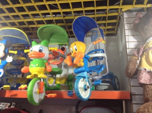 Top Row of the local stroller selection.