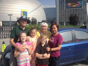 Really sweet lady who drove us to the museum!